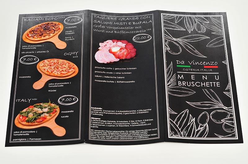 drukarnia kart menu do pizzeri