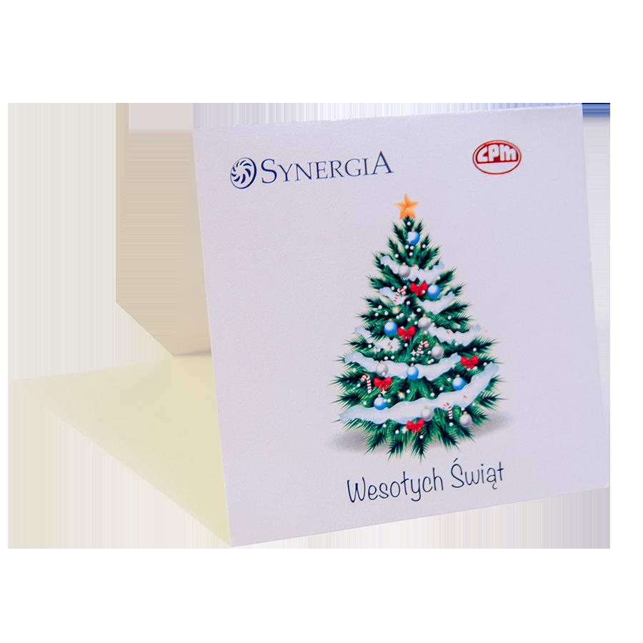 hot stamping kartki świąteczne