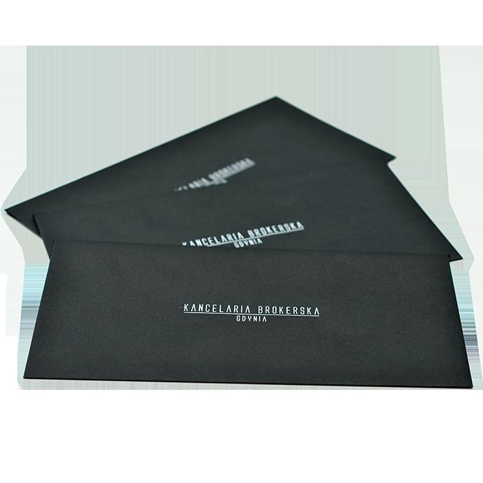 koperty z białym drukiem hot stamping